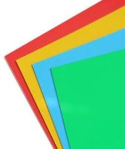 Colored Round Labels Self Adhesive Stickers On A4 Sheets