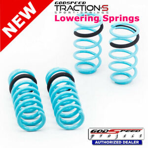 Traction s Sport Springs For Ford Mustang 1987 93 Godspeed Ls ts fd 0006 a