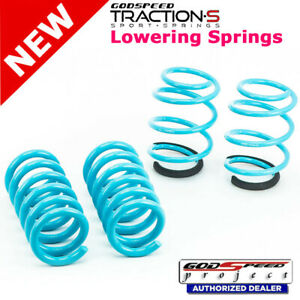 Traction S Sport Springs For Ford Mustang 2015 2018 Godspeed Ls Ts Fd 0004
