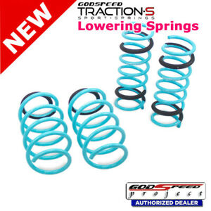 Traction S Sport Springs For Ford Focus 2011 2017 2wd Godspeed Ls Ts Fd 0007