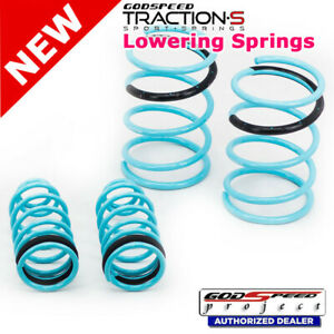 Traction s Sport Springs For Mitsubishi Eclipse 3g 00 05 Godspeed Ls ts mi 0001