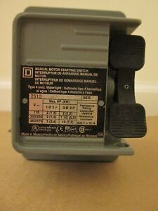 Square D 2510kw2 0635 Non reversing Manual Switch