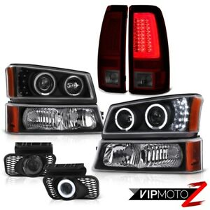 03 06 Chevy Silverado Taillamps Signal Lamp Headlamps Fog Lamps Led High Power