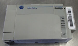 Ab Allen Bradley Micrologix 1500 Processor Unit 1764 lsp Used Take Out