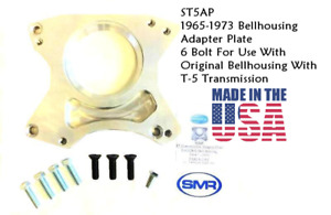 1965 1973 Mustang T 5 Tremec Tko Adapter Plate For 6 Bolt Bell Housing