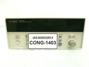 Agilent 34970a Data Acquisition Switch Unit Base No Bezels Cards Handle Used