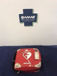 Philips Heartstart Frx Aed W Case Battery And Pads Cosmetic Issues 861304