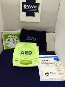 Zoll Aed Plus Public Use Aed Factory Recert New Adult Pads And Batteries