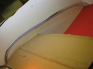1960 Chevy Belair 4 Door Hardtop Rear Window Lower Reveal Molding 7039