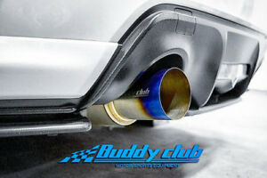 Buddy Club Racing Spec Titanium Cat Back Exhaust System For 12 Frs Brz Ft86