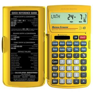 Construction Material Calculator Contractors Tool For Job Cost Estimates Bids
