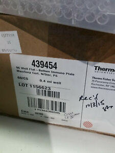 Thermo Scientific 96 Well Flat bottom Immuno Plate Maxisorp Cert N s Ps Elisa