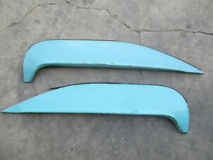 Chevy Impala 1960 Rear Fender Skirts Fox Craft Originals Cws 60 J14180