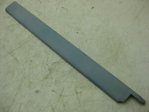 1959 1960 Chevy Ba 2dr Sedan Left Rear Quarter Window Front Garnish Molding 5537