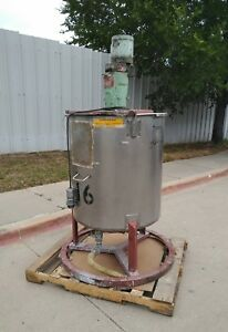 Nettco Mixer With 100 Gal Mixing Tank And Bottom Outlet Nsgb 033