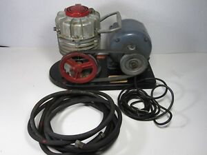 Vintage Speedy Air Compressor sprayer Oil Less With General Electric Motor Work
