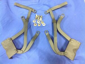 1959 1960 Chevy Station Wagon Rear Seat Hinges