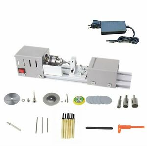 L 01 Diy Multifunction Wood Mini Lathe Machine Polisher Table Saw Cutting