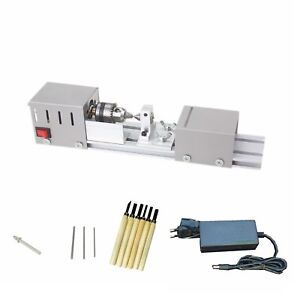 L 01 Diy Fundamental Wood Lathe Mini Lathe Machine Cutting Polisher Table Saw