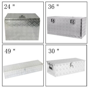 24 49 Aluminum Truck Underbody Tool Box Trailer Rv Tool Storage Under Bed