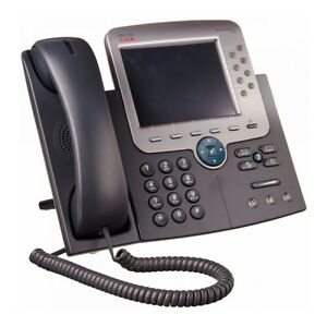 Cisco Cp 7975g Unified Voip Color Display Office Business Phone