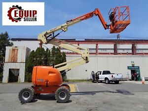 Jlg 450aj Boom Man Aerial Scissor Lift Lift Height 45ft 4x4 Low Hours