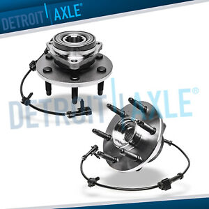 Both Front Wheel Bearings Hub Chevy Silverado Gmc Sierra Yukon Wheel Bearing 4x4