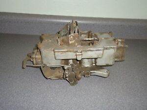 Autolite 4100 4 barrel Carburetor 1 12 5752309 1958 1959 1960 Ford Edsel T bird