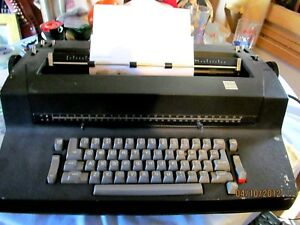 Ibm Black Selectric Ii Correcting Electric Typewriter W Accessories