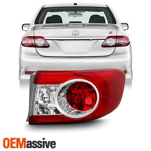 original Style Fits 2011 2013 Toyota Corolla Passenger Side Outer Tail Light
