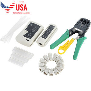Network Tool Kit 6 In 1 Ethernet Crimper Cable Tester Tool Kit Set