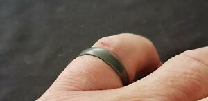 Stunning Post Medieval Pewter Silver Finger Ring Please Read Description L17m