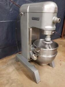 Hobart H 600t 60 Qt Dough Mixer W Stainless Bowl Hook Whip 3 Phase