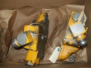 580c Case Backhoe Control Valve Sections Inlet And Outlet