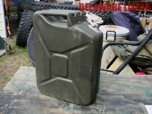Orig Military 20l Jerry Water gas fuel Can Dated 1970
