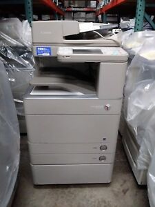 Canon Imagerunner Advance C5250 Printer Copier Scanner Color Mfp Low Meter