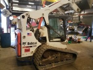 2014 Bobcat T650 Tracked Skid Steer Loader W Cab High Flow Coming In Soon