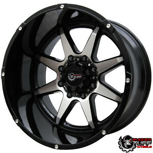 New 20 Rims Rt800 Wheels Gloss Set 20x12 8x165 1 8x6 5 For Dodge Ford Gmc Chevy