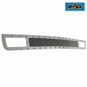 07 13 Chevrolet Silverado 1500 Bumper Grille Rivet Stainless Steel Wire Mesh