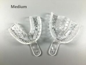 Dental Impression Trays Autoclavable Full Denture Teeth Repair Material Tool m