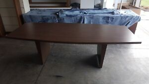 Conference Table Used 8 Long Formica
