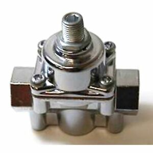 Racing Power rpc R6451 Alum Fuel Pressure Regulator 4 9 Psi For Carb Only