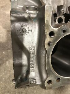 Pontiac 400 Engine Block