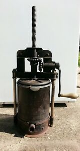 Antique Lard Press Or Sausage Press Stuffer Great Condition Local Pickup Only