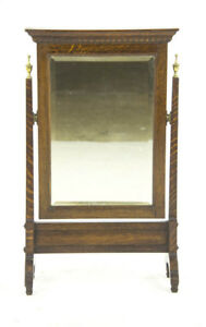 Antique Shaving Mirror Dressing Mirror Vanity Mirror Scotland 1900 B1044