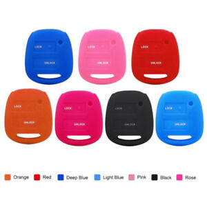 2 Buttons Silicone Shell Remote Key Fob Case Cover For Toyota Camry Corolla Rav4