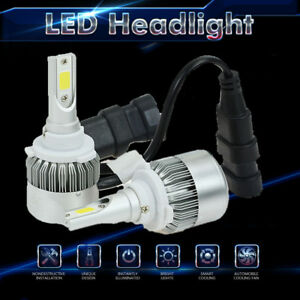 9006 Hb4 80w 8000lm Cree Led Headlight Low Beam Bulb Kit Super White 6000k Lamps