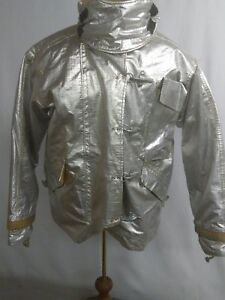 Morning Pride Proximity Turnout Bunker Coat Aluminized Size 46 29 35 34