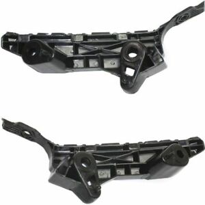 Front Bumper Retainer Bracket Pair For 2014 2018 Mazda 3 Ma1032100 Ma1033110 L R