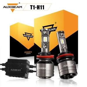 Auxbeam H11 H9 H8 Led Headlight High Low Fog Lights 70w 6500k White With Canbus